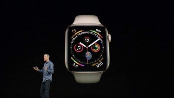 Лікар прокоментував одну з важливих функцій Apple Watch 4