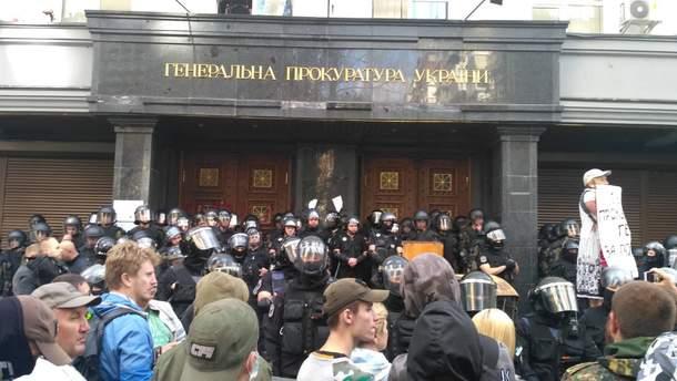 Столкновения под ГПУ 17 сентября: полиция отчитывается о задержанных