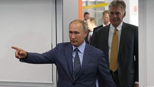 Президент России Владимир Путин и его пресс-секретарь Дмитрий Песков отреагировали на сбивание ИЛ-20 у побережья Сирии