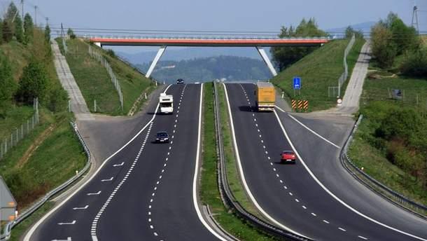 Перша в Україні європейська дорога