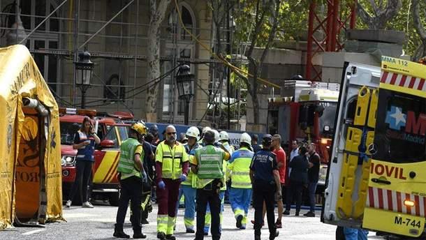 В Мадриде обвалились конструкции отеля Ritz: есть жертвы