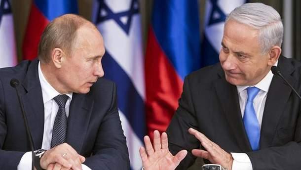 Путін і Нетаньяху обговорили катастрофу російського літака Іл-20