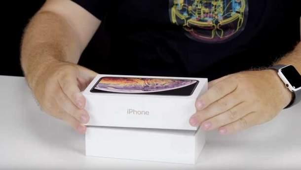 iPhone XS Max: відеорозпакування