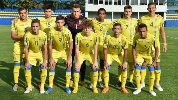 Збірна України U-17 розгромила Азейбарджан