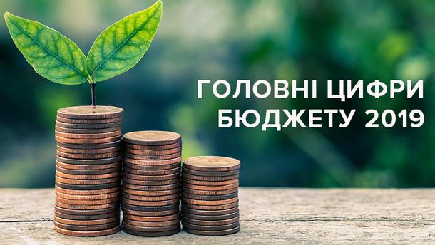 Государственный бюджет Украины 2019: главные цифры