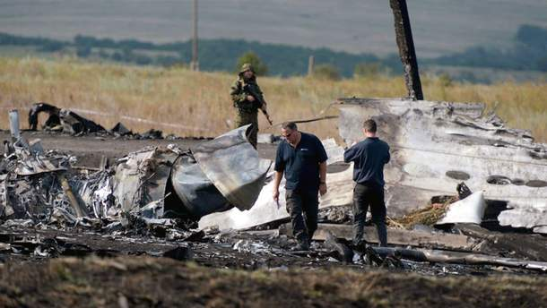 Сбитый Боинг 777 под Донецком