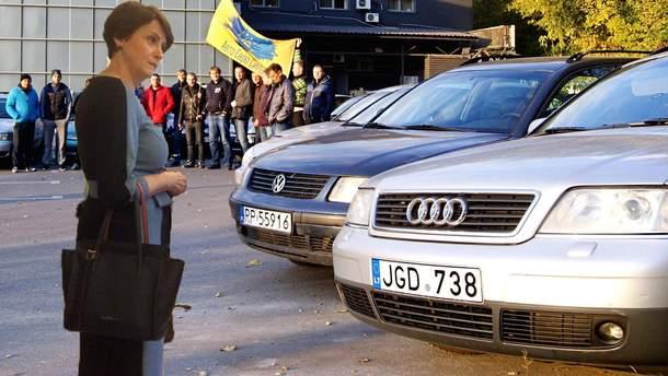 Южаніна окреслила терміни, коли Рада ухвалить нові правила ввезення до України автомобілів на єврономерах