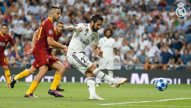 Реал – Рома відео голів матчу Ліги чемпіонів