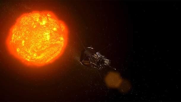 Зонд, направляющийся к Солнцу, прислал свой первый снимок