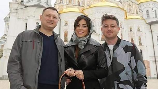 Брат Ани Лорак Игорь Куев (слева на фото)