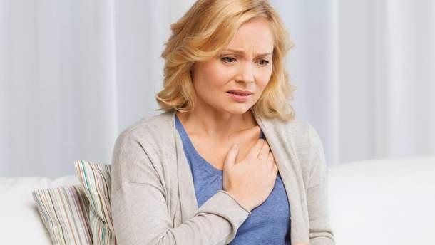 Які незвичні ознаки свідчать про хворе серце