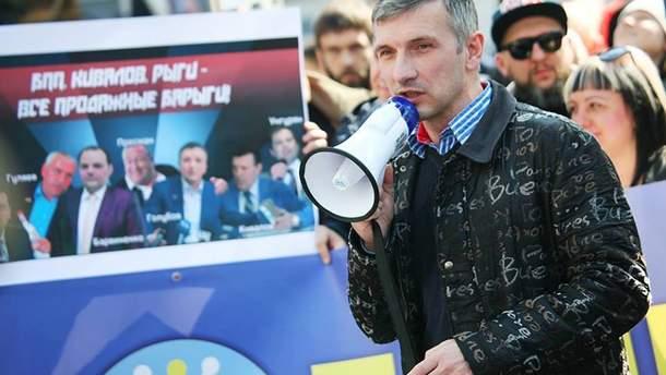 У одесского активиста стреляли из револьвера