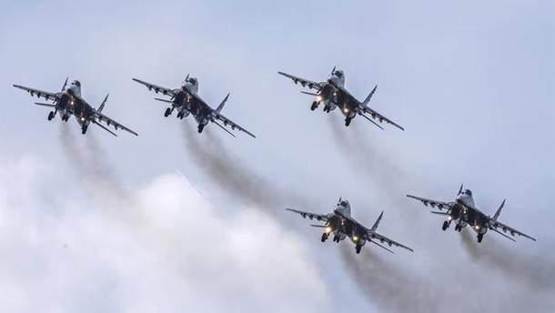 Літаки Чорноморського флоту Росії