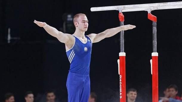 Петро Пахнюк виграв золото Кубка світу зі спортивної гімнастики