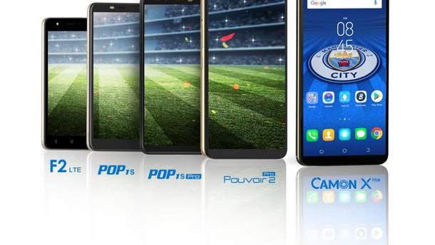 Tecno Mobile зайшла на ринок України