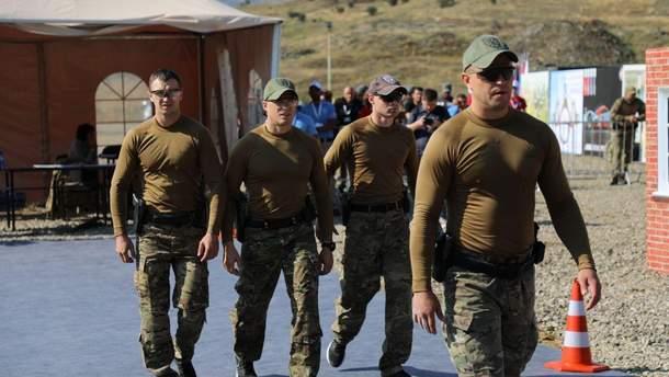 Команда Управления государственной охраны Украины
