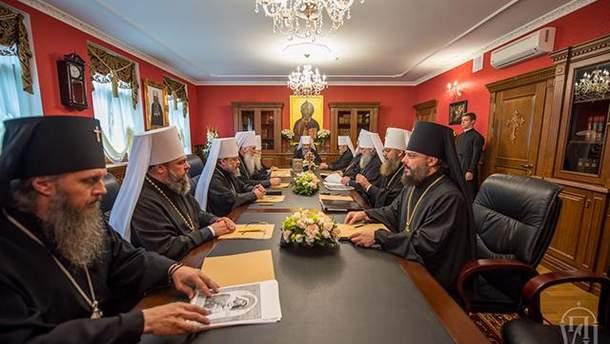 УПЦ МП потребовала, чтобы экзархи Константинополя покинули Украину