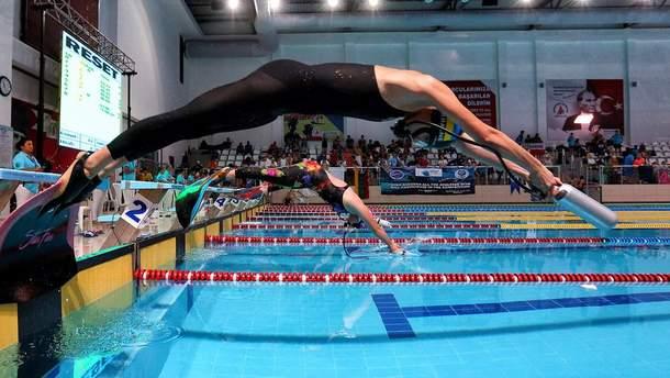 Сборная Украины по подводному плаванию победила на Кубке света