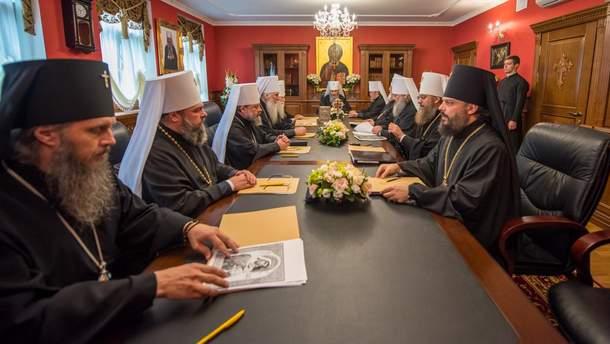 """В УПЦ МП заявили, що призначення екзархів було """"грубим втручанням"""" у справи церкви"""