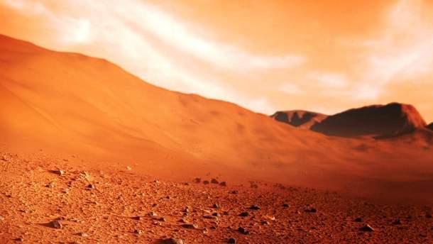 На Марсе могли быть условия для жизни
