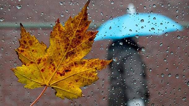 Прогноз погоди на жовтень в Україні