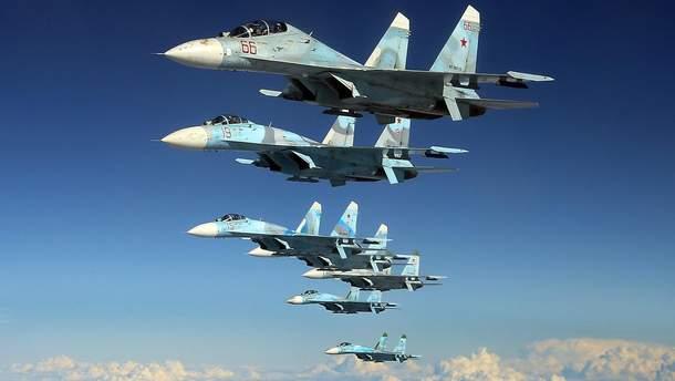 Росія та країни СНД проводять навчання військової авіації