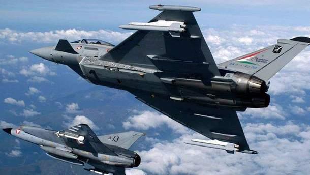 Німецькі винищувачі перехопили бомбардувальники РФ над Балтійським морем