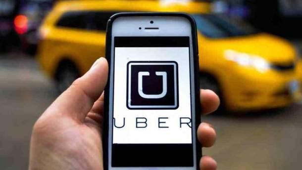 Cервис такси Uber