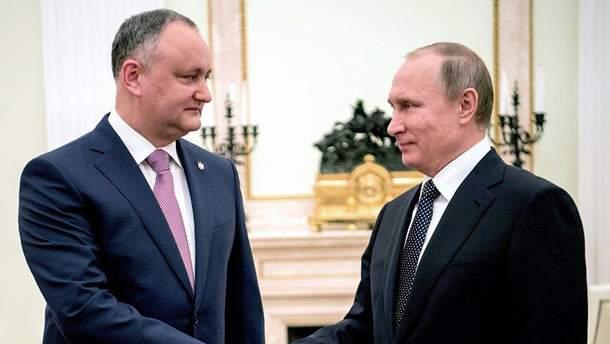 Росія готова відновити економічну співпрацю з Молдовою
