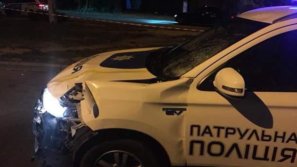 Машина полицейских
