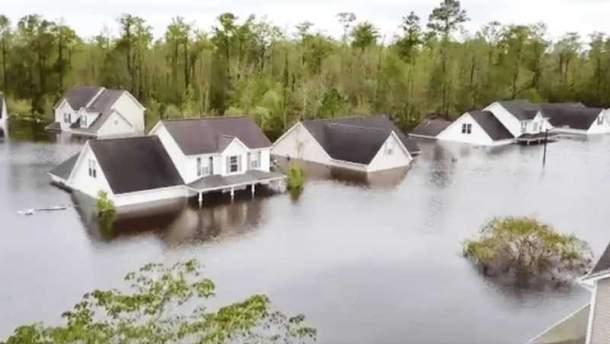 Последствия урагана Флоренс