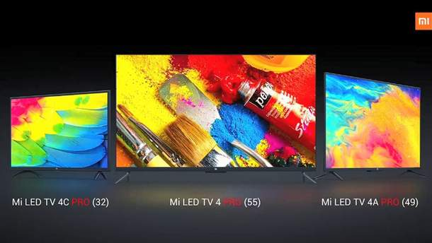 Xiaomi представила 3 новых смарт-телевизоры
