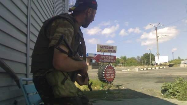 В'ячеслав Зінькевич на фронті