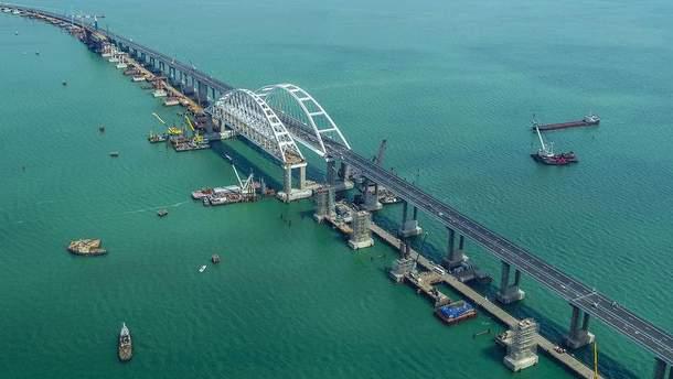 Росія придумала заходи для захисту Кримського моста
