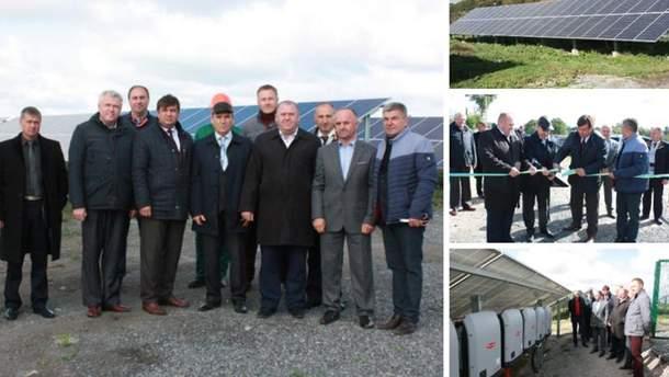 На Старокостянтиновщине заработали две солнечные электростанции
