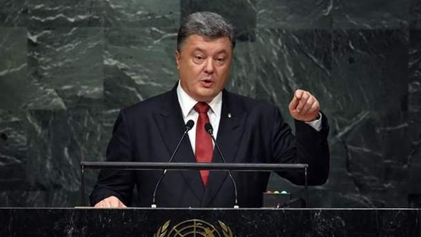 Порошенко закликав ООН вплинути на Росію через дії країни у Чорному морі