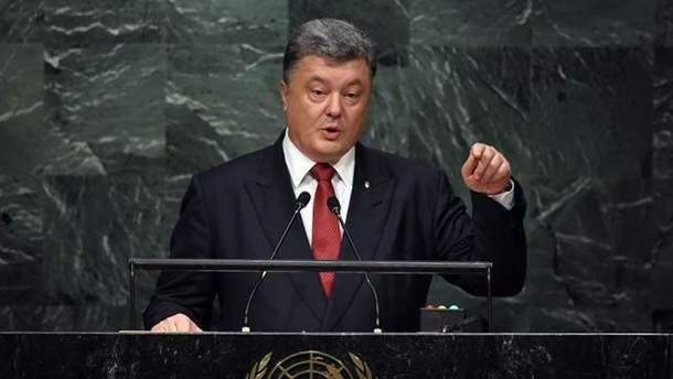 Порошенко призвал ООН повлиять на Россию из-за действий страны в Черном море