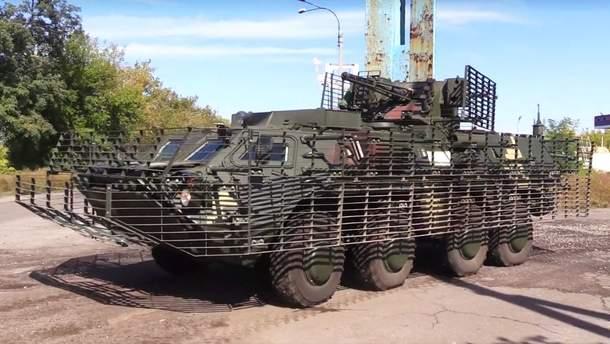 """БТР """"Буцефал"""" помогает украинским воинам на передовой"""