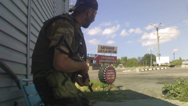 Вячеслав Зинкевич на фронте
