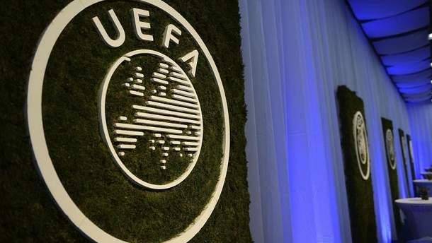 УЕФА наказал Украину за беспорядки на матче против сборной Чехии