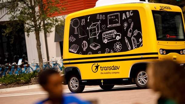 Беспилотный школьный автобус