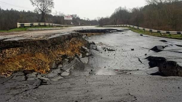 Оккупационным властям Крыма не хватает средств на ремонт дорог