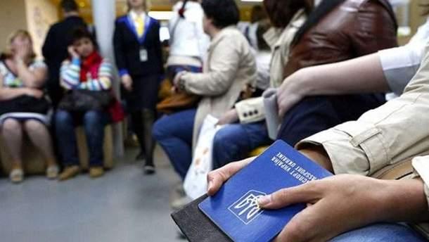 Количество заявлений на трудоустройство украинцев в Польше уменьшилось на 25%