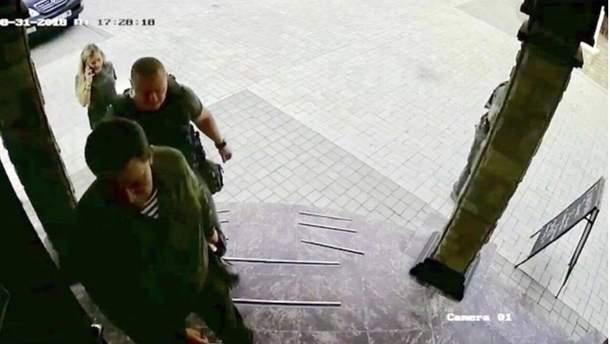 Фото Захарченко за секунды до гибели