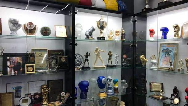 В Киеве открыли Зал славы украинского бокса