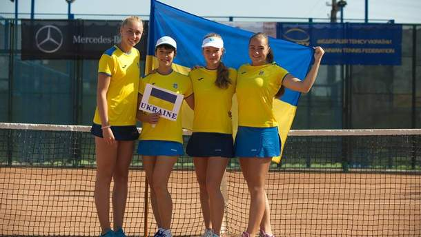 Юниорская сборная Украины по теннису
