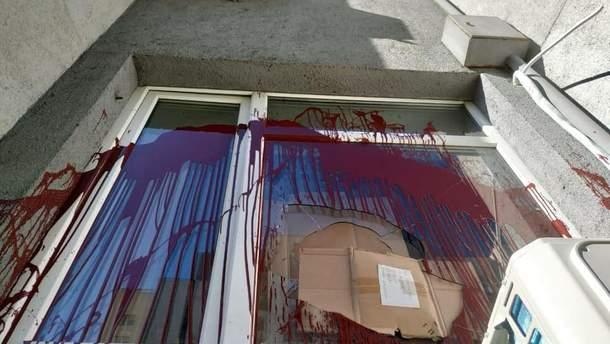 В Киеве неизвестные напали на офис нардепа Билецкого