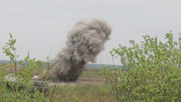 На Херсонщині стався вибух на полігоні