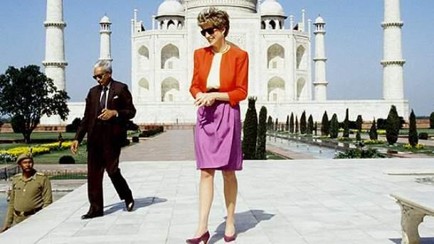 Принцесса Диана в Индии, 1992 год