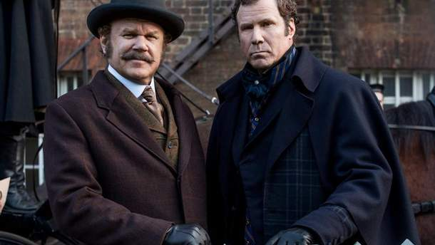 """Официальный кадр из фильма """"Холмс и Ватсон"""""""